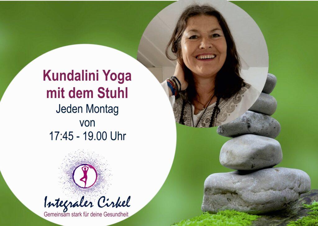 Montags: Kundalini Yoga mit dem Stuhl